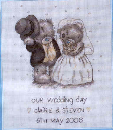 COUNTED CROSS STITCH WEDDING PATTERNS | Browse Patterns