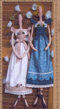 The Pattern Hutch- Cloth Doll Patterns- Kat's Country Prims