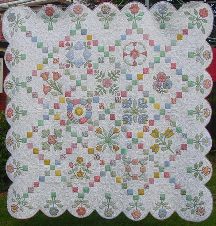 A Quilt Blocks  Borders (Applique) Pack - Lg