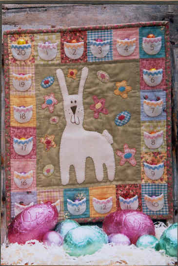 Easter Quilting - How to Make a Easter Nine-Patch Quilt Block